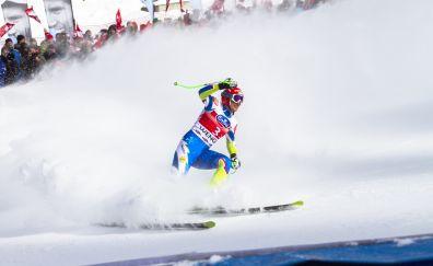Ski race, sports, snow
