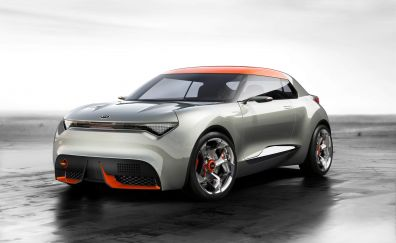 Kia hatchback car