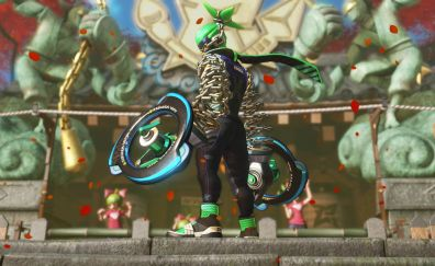 Ninjara, Arms video game, gaming