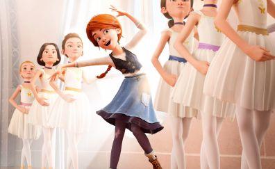 Elle fanning in Ballerina animation movie