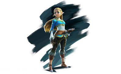 The Legend of Zelda: Breath of the Wild game, artwork