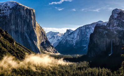 Yosemite national park nature