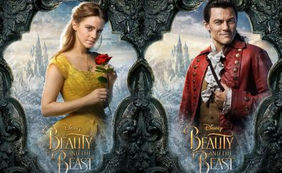 Beauty and the beast, 2017 movie, emma watson, luke evans