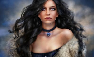 Yennefer, The witcher video game