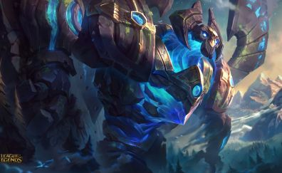 Galio, League of legends online game, gaming