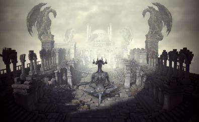 Dark souls 3 demon game