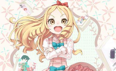 Yamada Elf, EroManga-Sensei, blonde anime girl