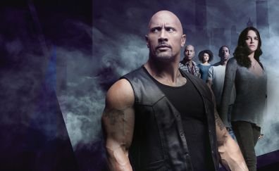 The fate of the furious, movie, Dwayne Johnson, Michelle Rodriguez