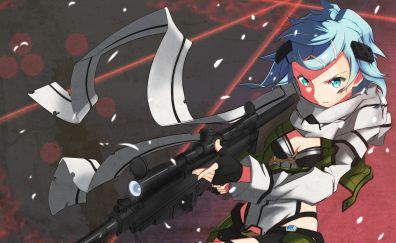 SAO, anime girl, anime, Asada Shino
