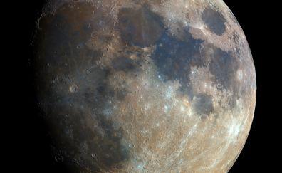 Super moon 2016 closeup