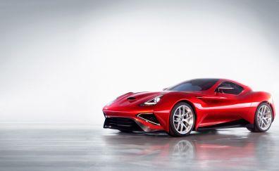 Icona Vulcano Titanium red car