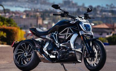 Ducati diavel, race bike