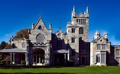 Gothic architecture, castle