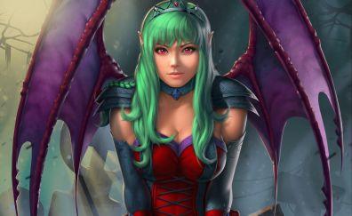 Fantasy, dragon girl