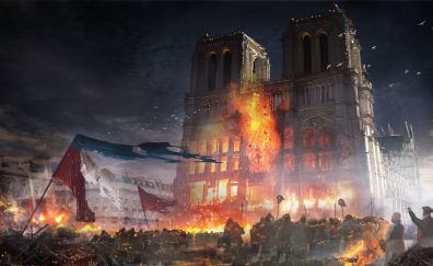 Assassin's Creed Unity - Castle of Glass, video game, castle
