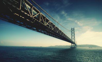 Akashi Kaikyō Bridge of Japan