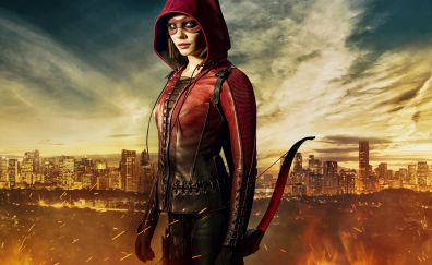 Willa holland in Arrow season 5 tv series