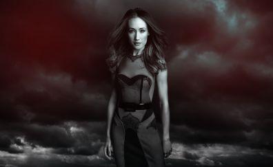 Beautiful Maggie Q in Nikita TV series