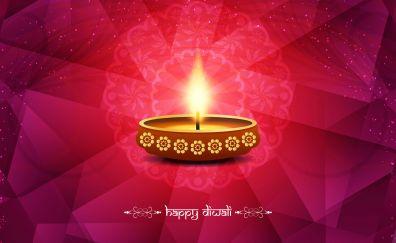 Happy diwali digital artwork