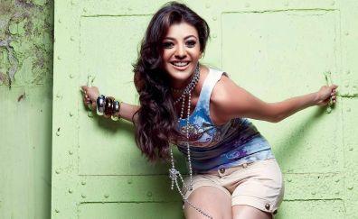 Indian Actress, smile, Kajal Aggarwal