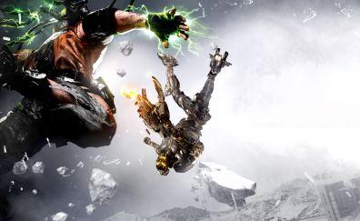 Aegis - LawBreakers, video game, fight