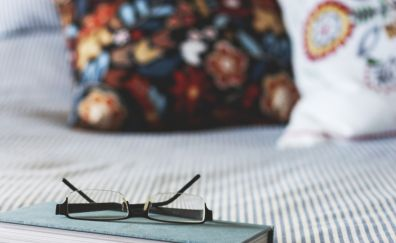 Book and my glasses