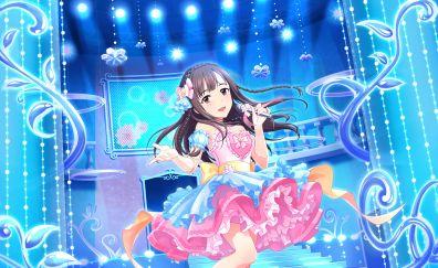 Yukari Mizumoto, singing, anime girl