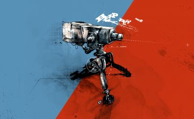 Team fortress 2 video game, robot