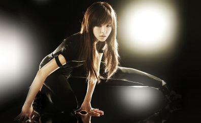 Korean Asian girl model