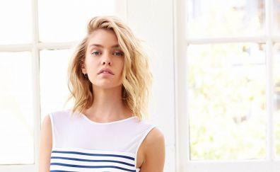 Stella Maxwell, beautiful model, blonde