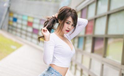 Sun Hui Tong, Asian model