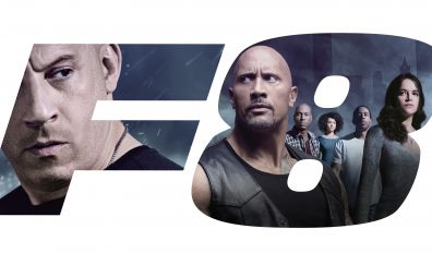 The Fate of the Furious, 2017 movie, Vin Diesel, Dwayne Johnson, casts