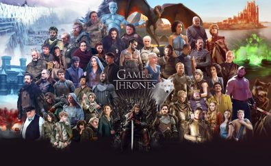 Game of thrones all cast tv series