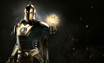 Doctor Fate, Injustice 2 video game wallpaper