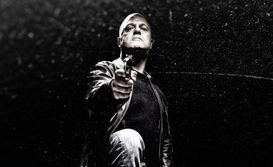 The shield TV series, actor, Michael Chiklis, dark