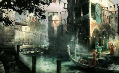 City of Assassin's creed 2 video game
