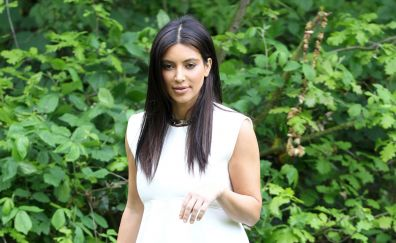 Kim Kardashian, super model