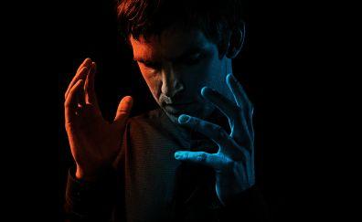 Legion tv show, Dan Stevens, poster, dark