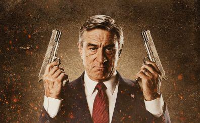 Robert De Niro with guns, actor