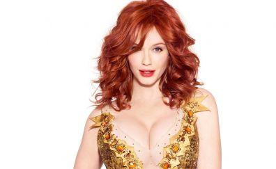 Christina Hendricks, red head, hot actress