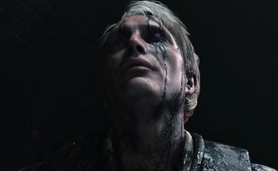 Mads Mikkelsen in Death stranding video game
