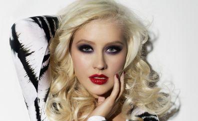 Christina Aguilera's makeup, celebrity