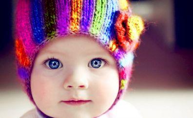 Blue eye Cute baby