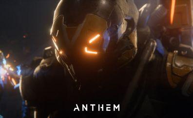 Anthem, 2018 game, video game, soldier, dark