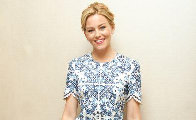 Beautiful smile, blonde celebrity, Elizabeth Banks