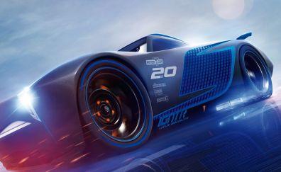 Cars 3, Jackson Storm, animation movie, HD