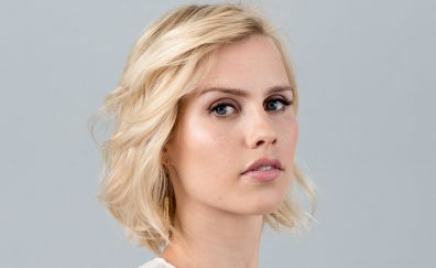 Claire Holt, blonde, celebrity, face