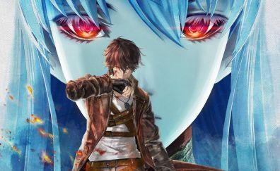 Valkyri azure revolution anime
