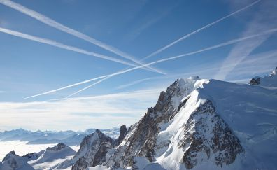 Alps Chamonix mountain