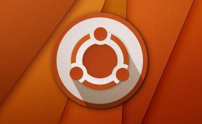 Ubuntu logo material design